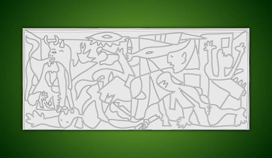 """Intrarea #                                        3                                      pentru concursul """"                                        Spin on Picasso's Guernica                                     """""""