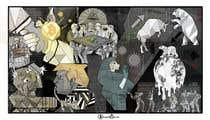 """Photoshop Intrarea #15 pentru concursul """"Spin on Picasso's Guernica"""""""