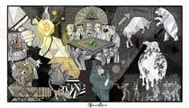 """Photoshop Intrarea #16 pentru concursul """"Spin on Picasso's Guernica"""""""