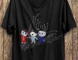 mahadihasan44 tarafından Looking for a T-shirt design using company mascots için no 115