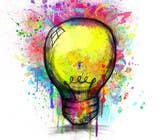 Proposition n° 17 du concours Graphic Design pour Design an light bulb in an abstract modern hand drawing style