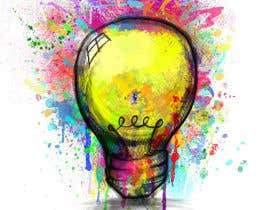 #17 for Design an light bulb in an abstract modern hand drawing style af gwynmichael