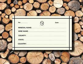 #112 cho I need a simple template for a mineral label which is like a business card like card for identifying minerals like a name-tag bởi AhmedCHY50