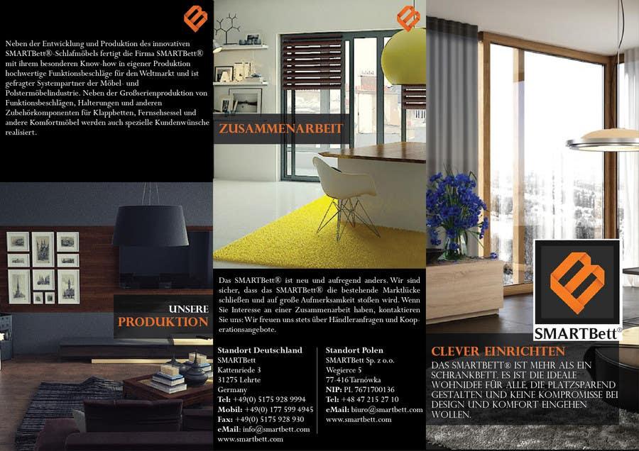 Contest Entry #6 for Design eines Flyer for Smartbett/ Fold-away beds smartbett.com