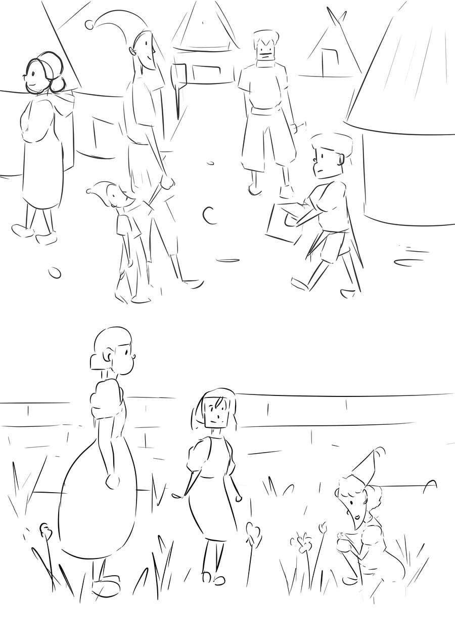 Kilpailutyö #                                        10                                      kilpailussa                                         Create a comic book proposal from my non-fiction story idea.