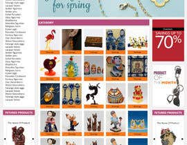 #15 para Website Design for Gifts and Souvenirs online store  PSD only por HasithaCJ