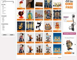 #16 para Website Design for Gifts and Souvenirs online store  PSD only por HasithaCJ
