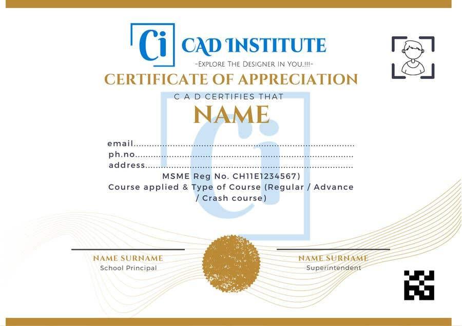Konkurrenceindlæg #                                        43                                      for                                         Design 2 Certificates & 1 Marksheet format (for both Digital Certification & Hard Copy)