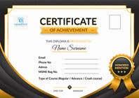 Graphic Design Konkurrenceindlæg #22 for Design 2 Certificates & 1 Marksheet format (for both Digital Certification & Hard Copy)