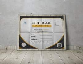 #25 for Design 2 Certificates & 1 Marksheet format (for both Digital Certification & Hard Copy) af rumonhossain0062