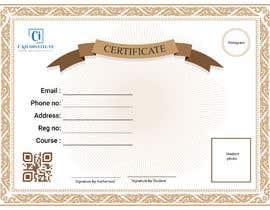 #3 for Design 2 Certificates & 1 Marksheet format (for both Digital Certification & Hard Copy) af srialokbiswas