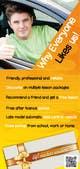 "Graphic Design-kilpailutyö nro 49 kilpailussa Design an Advertisement flyer for ""Adept Driver Training"""