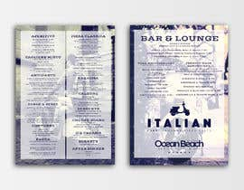nowshinurmi76 tarafından Create an attractive menu design for Italian Cafe (Ocean Beach Hotel and Spa için no 25