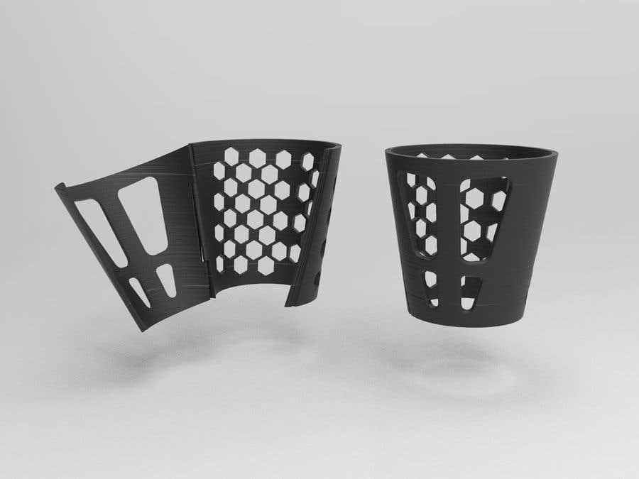Kilpailutyö #                                        6                                      kilpailussa                                         CAD gauntlet re-design