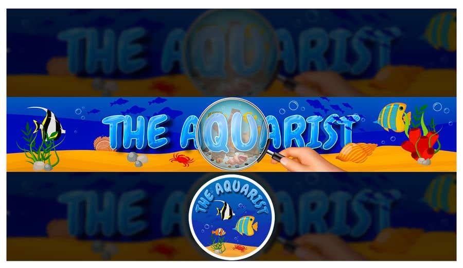 Penyertaan Peraduan #                                        86                                      untuk                                         The Aquarist Logo & Banner