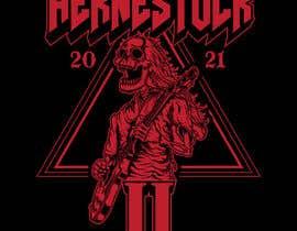 DaveWL tarafından Create a Design for rock / metal festival t shirt için no 28