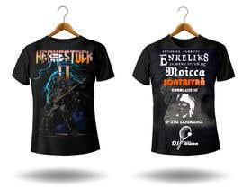 valencast0 tarafından Create a Design for rock / metal festival t shirt için no 15