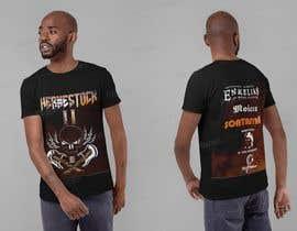hanibani04 tarafından Create a Design for rock / metal festival t shirt için no 17