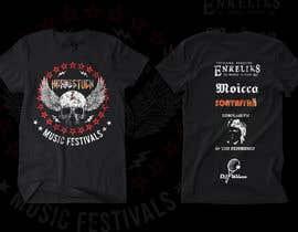 antoniustoni tarafından Create a Design for rock / metal festival t shirt için no 9