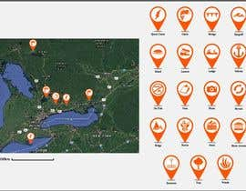 #9 untuk Design map markers for the following features oleh DulajGraphic