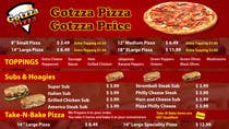 Graphic Design Bài thi #8 cho Design an Advertisement for MENU for PIZZA