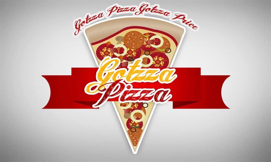 Konkurrenceindlæg #                                        17                                      for                                         Design a Logo for Gotzza Pizza - Modification