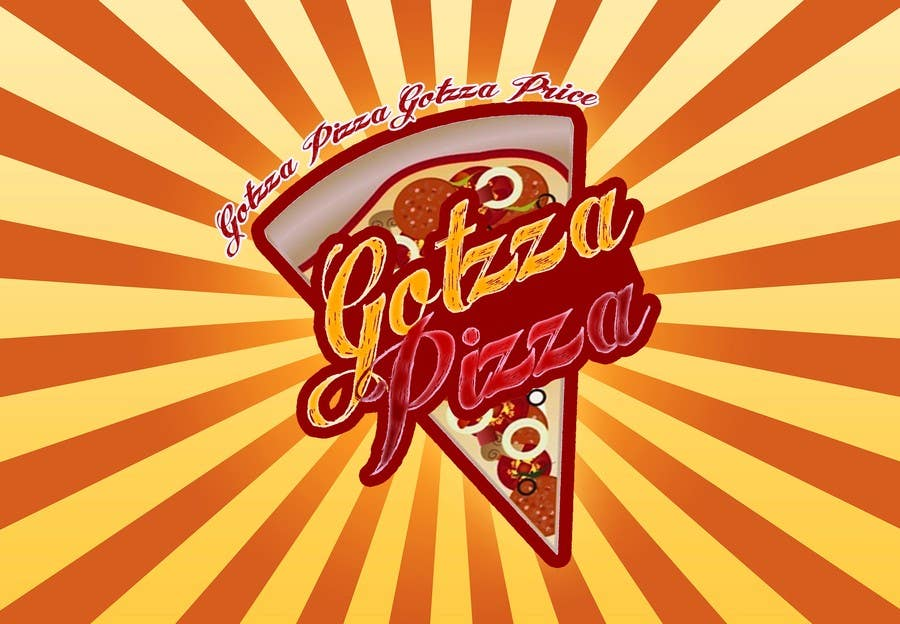 Konkurrenceindlæg #                                        18                                      for                                         Design a Logo for Gotzza Pizza - Modification