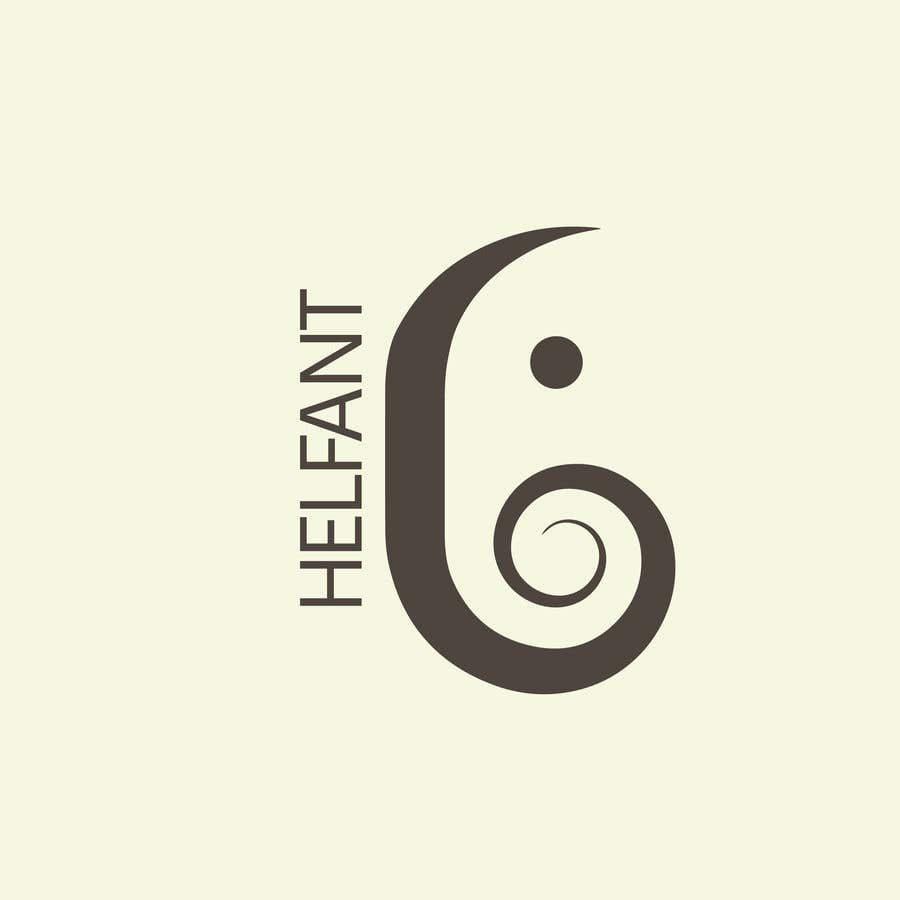 """Konkurrenceindlæg #                                        54                                      for                                         Design a logo for my restaurant """"Helfant"""". Which means Elephant and is a healthy Bowl restaurant."""