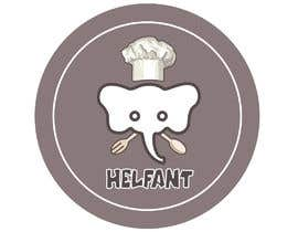 """#92 for Design a logo for my restaurant """"Helfant"""". Which means Elephant and is a healthy Bowl restaurant. af basudebsarker"""