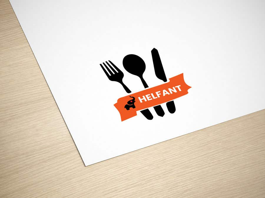 """Konkurrenceindlæg #                                        50                                      for                                         Design a logo for my restaurant """"Helfant"""". Which means Elephant and is a healthy Bowl restaurant."""
