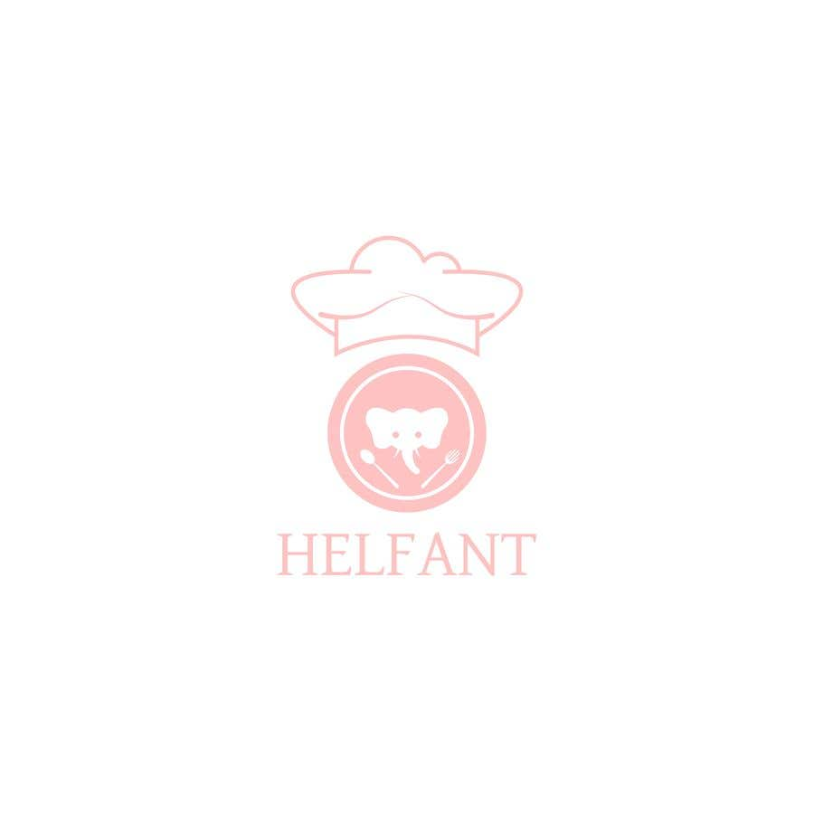 """Konkurrenceindlæg #                                        72                                      for                                         Design a logo for my restaurant """"Helfant"""". Which means Elephant and is a healthy Bowl restaurant."""
