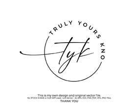 nº 71 pour TrulyYoursKNO logo creation par mashudurrelative