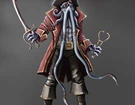 #35 para Villain Concept (Fantasy) Illithid Pirate por kdradkov