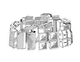 #18 cho Stacked Guitar Amp Illustration of Stonehenge bởi artworm1985