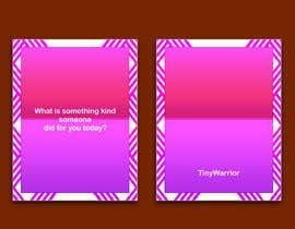 Nro 101 kilpailuun Design me a deck of Self-Care Cards - 06/05/2021 17:49 EDT käyttäjältä affanfa