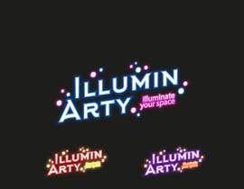 Nro 38 kilpailuun Create a logo for Illumin-Arty (illuminated art project) käyttäjältä BORGEBORG