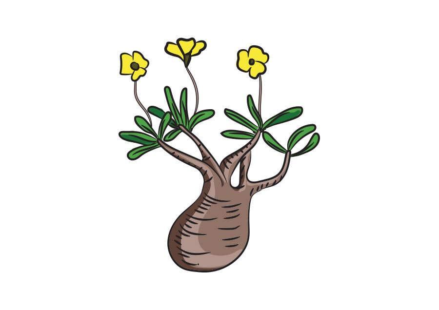Penyertaan Peraduan #                                        104                                      untuk                                         Botanical illustration needed