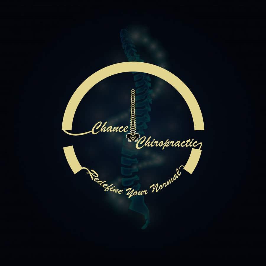 Penyertaan Peraduan #                                        100                                      untuk                                         Chiropractic office logo