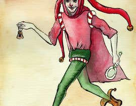 #18 for Illustrate German trickster figure Till Eulenspiegel for book cover af embernata