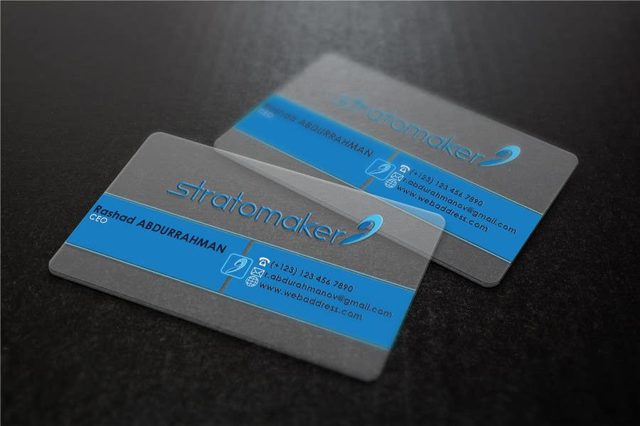 Contest Entry #                                        11                                      for                                         Business card
