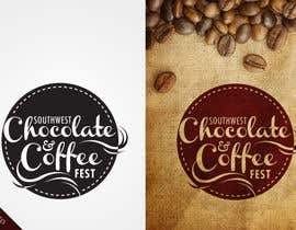 #175 dla Logo Design for The Southwest Chocolate and Coffee Fest przez bellecreative