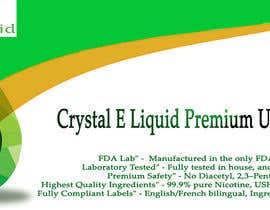 #28 for Design a Banner for Crystal E Liquid - PG/VG Line by atheriftikhar