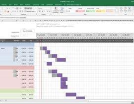 #7 untuk Gantt Chart with Geocode variable input for Graphical Presentation oleh pawangaire123