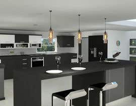 #24 untuk 3D Rendering of a Kitchen Design oleh Dilshanzgraphic