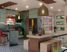 #20 untuk 3D Rendering of a Kitchen Design oleh SerenKaya
