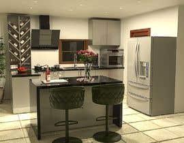 #37 untuk 3D Rendering of a Kitchen Design oleh NeoxStudio