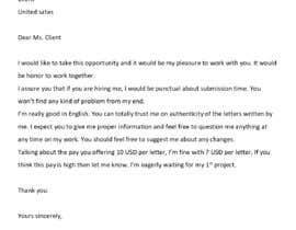 #1 for writer needed for business letters. af Anusr1