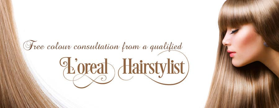 Contest Entry #2 for Design a Banner for Hair extension brand