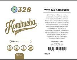 #51 for Kombucha Bottle Label by rabiulsheikh470