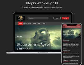 #45 for Utopia Game Home Page and Logo by jhaankitkumar12